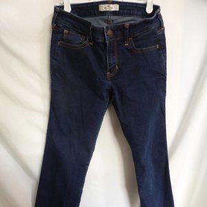 HOLLISTER, size 27 x 30, dark blue denim jeans